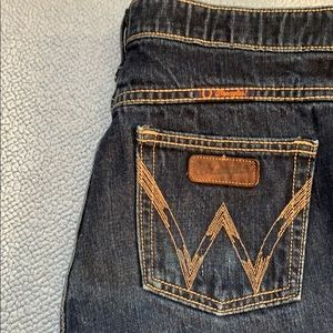 Distressed Wrangler Cutoff Shorts